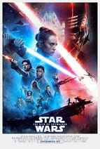 Star Wars - The Rise of Skywalker (2019) Poster