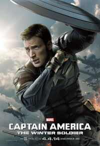 Captain America - The Winter Soldier (2014) Poster