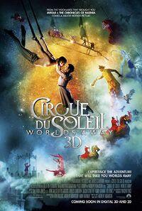 Cirque du Soleil - Worlds Away (2012) Poster