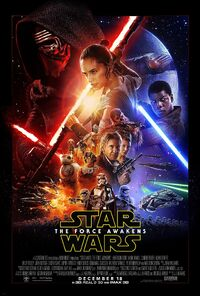 Star Wars - The Force Awakens (2015) Poster