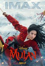 Mulan 2020 IMAX Poster