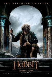 The Hobbit - The Battle of the Five Armies (2014) Poster