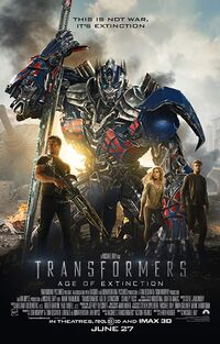 Transformers - Age of Extinction (2014) Poster