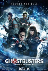 Ghostbusters (2016) Poster