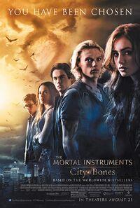 The Mortal Instruments - City of Bones (2013) Poster