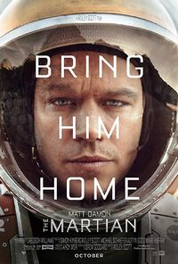 The Martian (2015) Poster