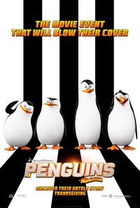 Penguins of Madagascar (2014) Poster
