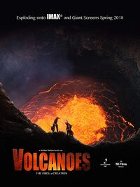 Volcanoes - The Fires of Creation (2018) Poster