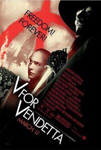 V for Vendetta (2005) Poster