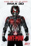 Ant-Man IMAX poster