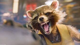 Guardians of the Galaxy Rocket Raccoon Oh Yeah IMAX HDR