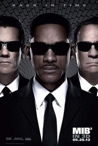 Men in Black 3 (2012) Poster