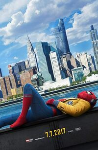Spider-Man - Homecoming (2017) Poster