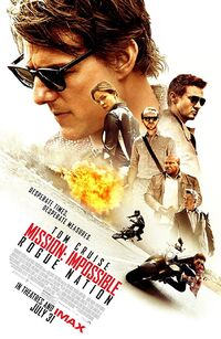 Mission - Impossible - Rogue Nation (2015) Poster