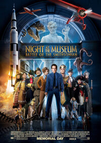 Night at the Museum - Battle of the Smithsonian (2009) Poster