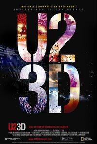 U2 3D (2007) Poster