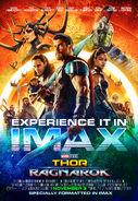 Thor Ragnarok IMAX Experience Poster