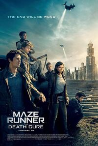 Maze Runner - The Death Cure (2018) Poster