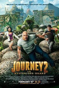 Journey 2 - The Mysterious Island (2012) Poster