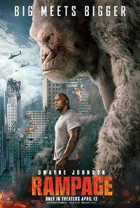 Rampage (2018) Poster