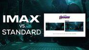 Avengers Endgame IMAX® Screen vs