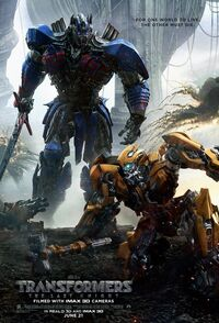 Transformers - The Last Knight (2017) Poster