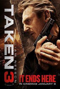 Taken 3 (2014) Poster