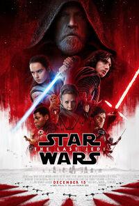 Star Wars - The Last Jedi (2017) Poster