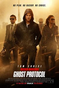 Mission - Impossible - Ghost Protocol (2011) Poster
