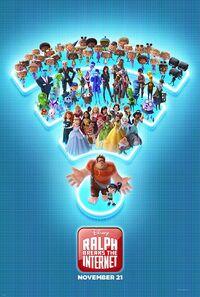 Ralph Breaks the Internet (2018) Poster
