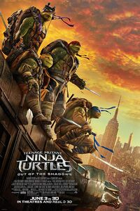 Teenage Mutant Ninja Turtles - Out of the Shadows (2016) Poster