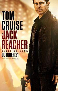 Jack Reacher - Never Go Back (2016) Poster