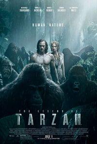 The Legend of Tarzan (2016) Poster