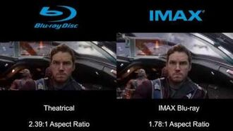 Guardians of the Galaxy Theatrical vs. IMAX Blu-ray
