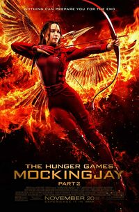 The Hunger Games - Mockingjay - Part 2 (2015) Poster