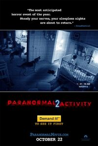 Paranormal Activity 2 (2010) Poster