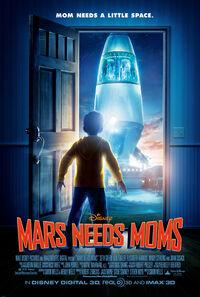 Mars Needs Moms (2011) Poster