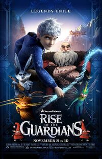 Rise of the Guardians (2012) Poster