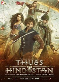 Thugs of Hindostan (2018) Poster