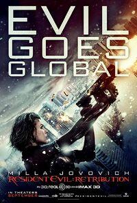 Resident Evil - Retribution (2012) Poster