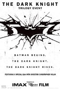 The Dark Knight Trilogy Event Poster