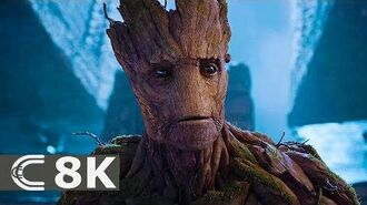 Guardians of the Galaxy (2014) Movie Clip Scene We Are Groot IMAX 8K
