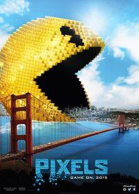 Pixels (2015) Poster