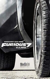 Furious 7 (2015) Poster