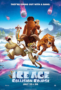 Ice Age - Collision Course (2016) Poster