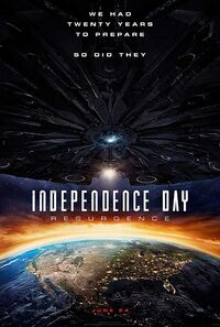 Independence Day - Resurgence (2016) Poster