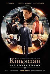 Kingsman - The Secret Service (2014) Poster
