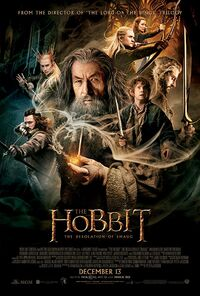 The Hobbit - The Desolation of Smaug (2013) Poster