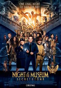Night at the Museum - Secret of the Tomb (2014) Poster