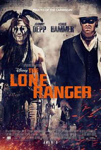 The Lone Ranger (2013) Poster